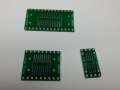 Adapter board split into 3