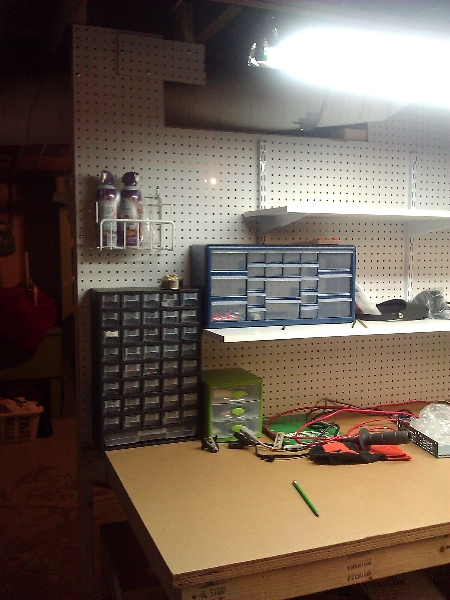 Starting To Look Like A Workbench